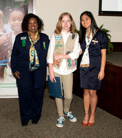 2017 Girl Scouts Gold and Silver Award Ceremony