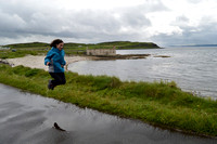 Puddle jumping on Rathlin Island